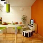 lime-green-and-orange-kitchen-decor