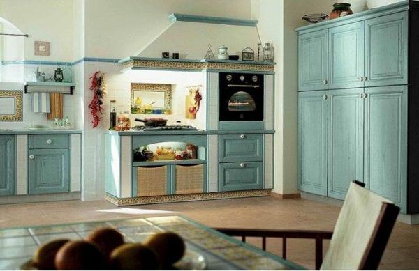 Дизайн греческой кухни