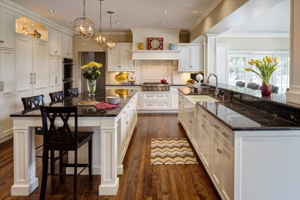 Кухня в стиле американского интерьера