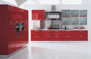 Акриловые фасады для кухни: современный тренд европейской моды