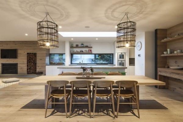 Мебель на кухне в эко-стиле