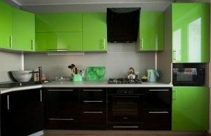 Комбинированные кухни: как правильно подружить цвета