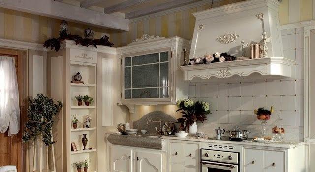 Кухня в стиле прованс: фото