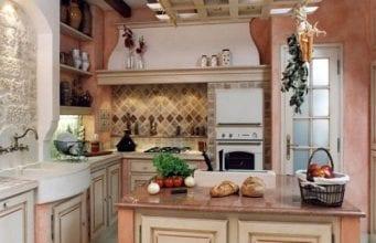 Дизайн кухни в стиле кантри и прованс: фото готовых идей