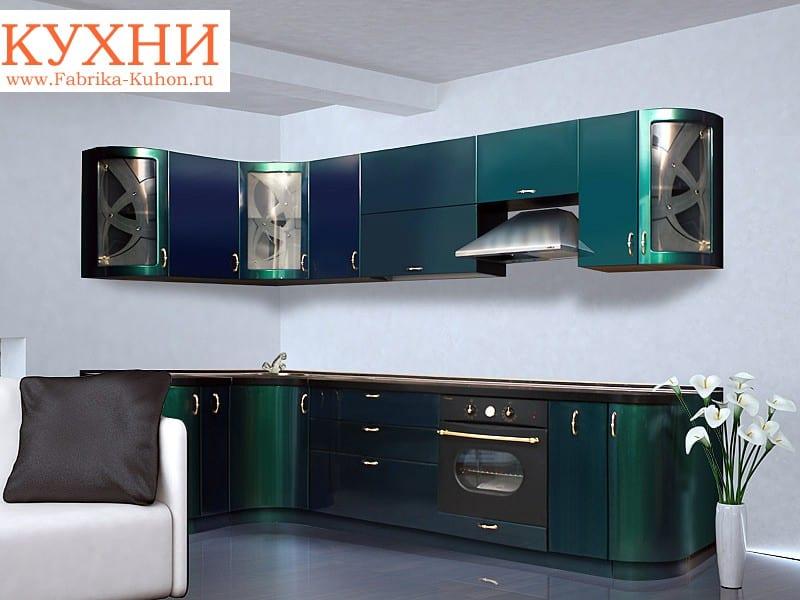 кухня фото металлик