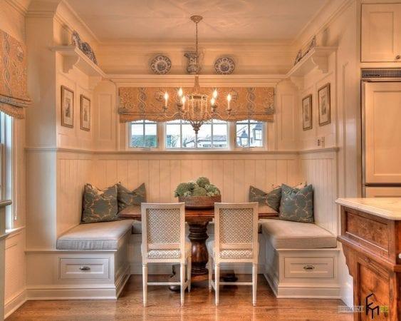 Кухонный уголок в стиле прованс