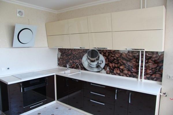 Кухня Шоколад комбинированная