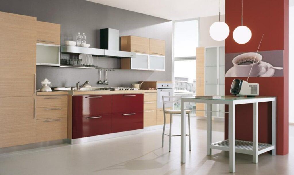 Комбинированные цвета кухонного гарнитура купить вытяжные зонты для кухни