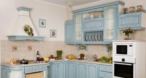Интерьер кухни в стиле прованс ? романтичный и уютный