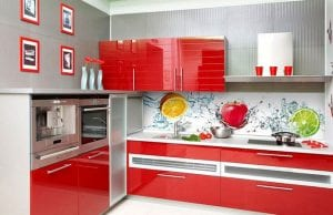 Кухонные фартуки: 50 фото идей облицовки