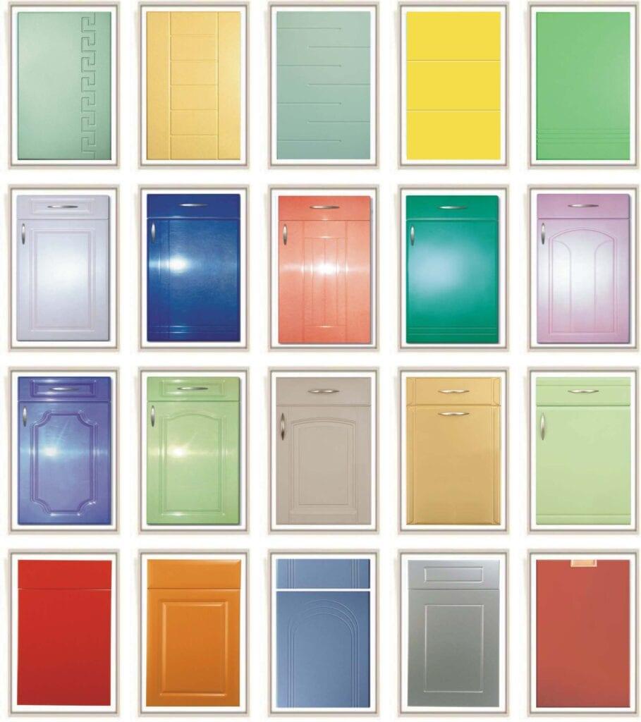 Образцы палитры краски для мдф фасадов промышленные наливные полы в самаре