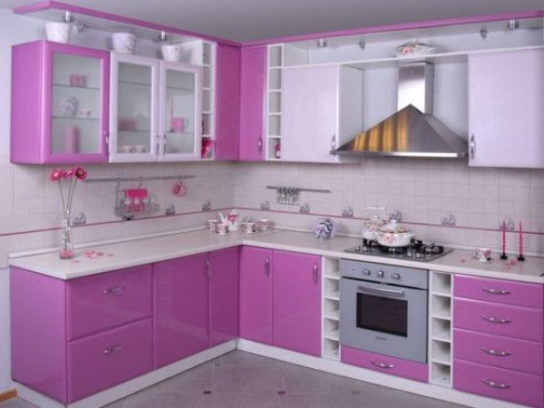 Ламинированный кухонный фасад