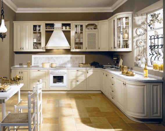 Кухня в кантри стиле