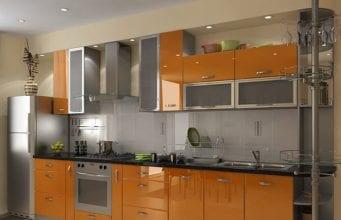 Пленочные кухонные фасады из МДФ – доступное качество и многообразие решений