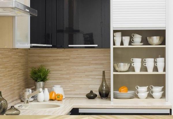 Панели из ламинированного МДФ для кухни