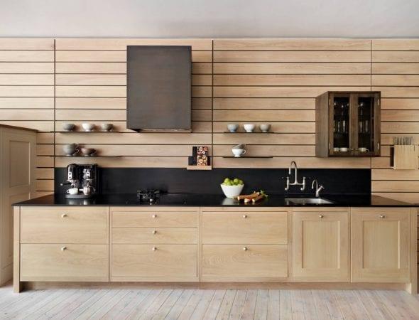 Панели для кухни из дерева