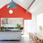 coral-wall-farmhouse-kitchen