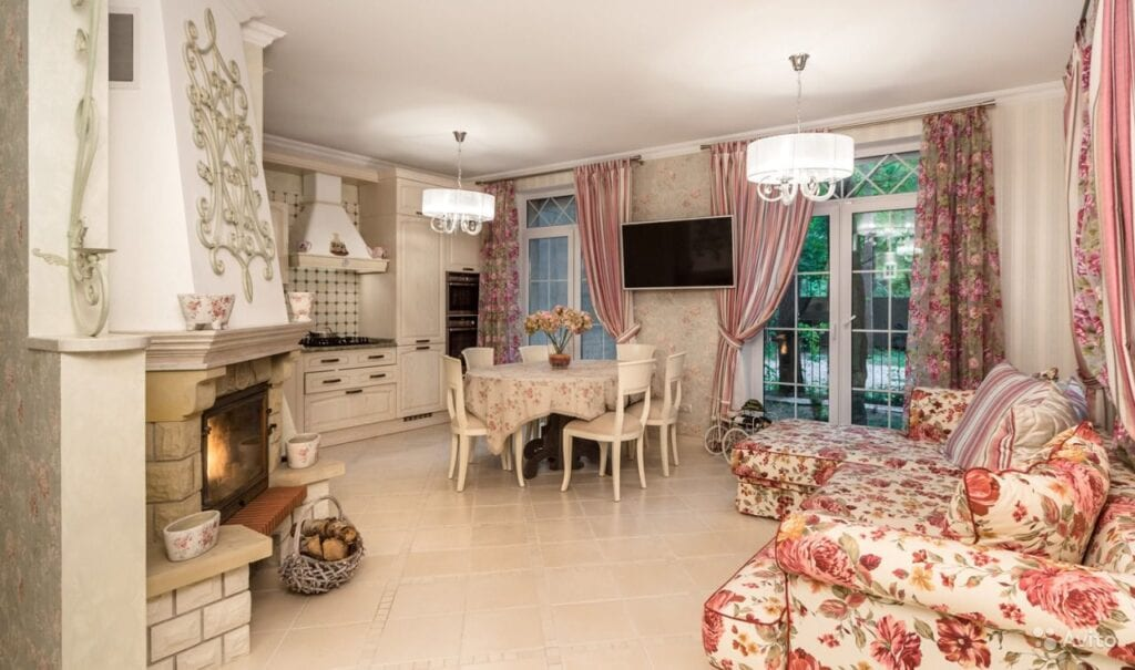 кухня гостиная в стиле прованс нюансы дизайна и оформления