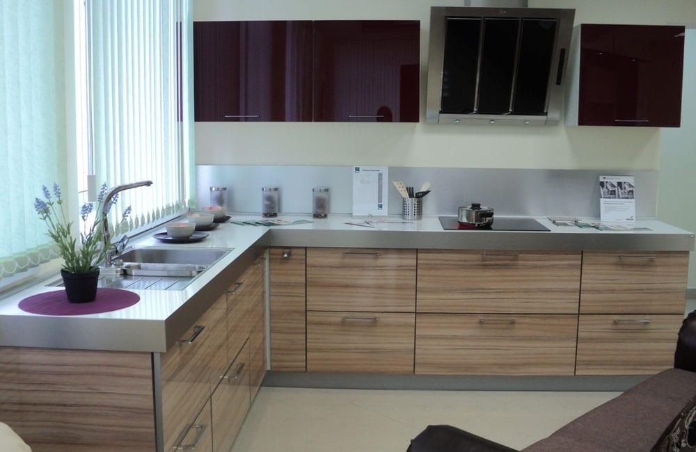 фото кухни акриловые