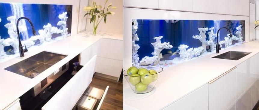 Оргстекло в дизайне кухни