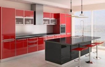 Акриловые кухни: чем привлекают кухонные гарнитуры из акрила