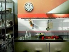 Кухонный фартук из плитки – классическое решение