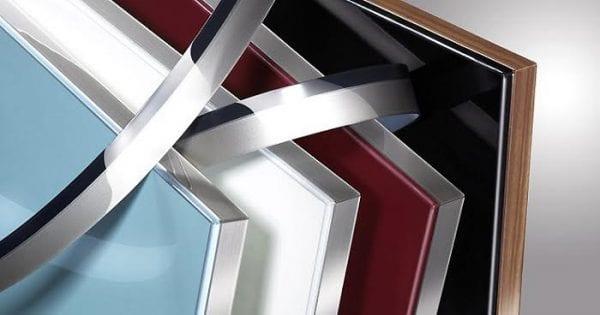 Панели в алюминиевом профиле
