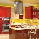 amusing-yellow-and-red-kitchen-and-idea-gallery