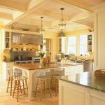 decorative-range-hood-kitchen-traditional-with-bell-pendant-lighting-breakfast