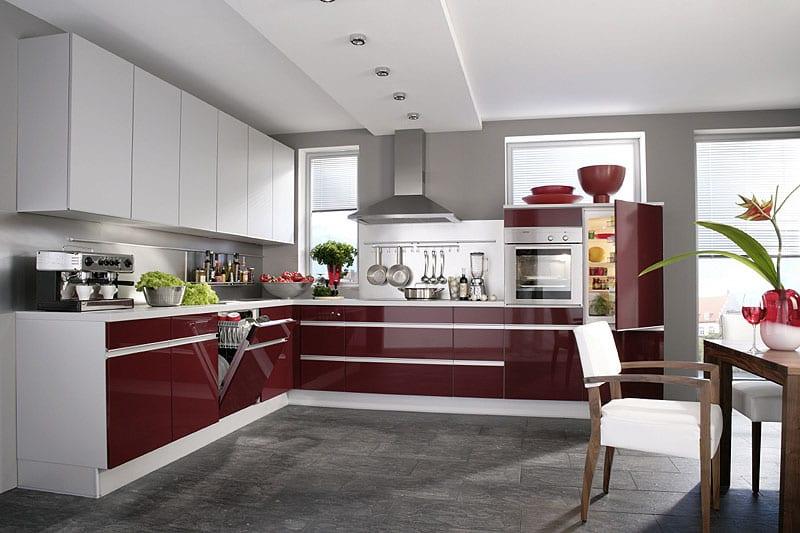 Дизайн интерьера кухни хай тек