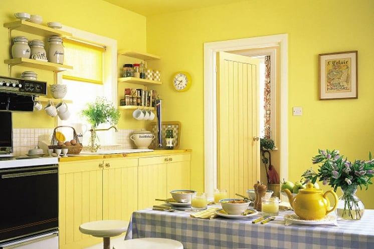 Стены в кухне дизайн