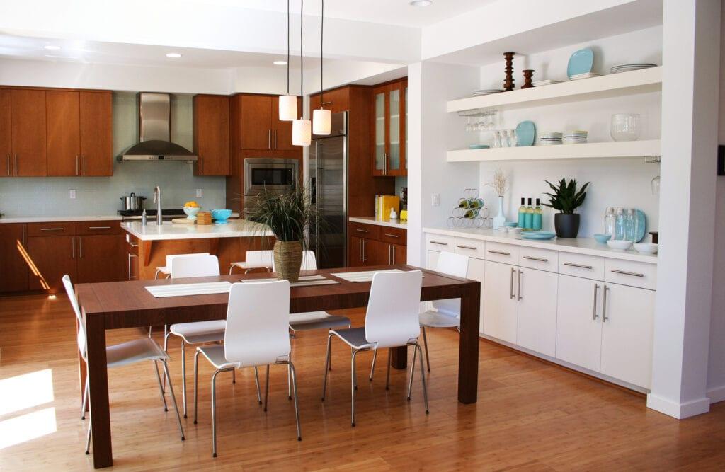 Фото интерьер кухни комнат
