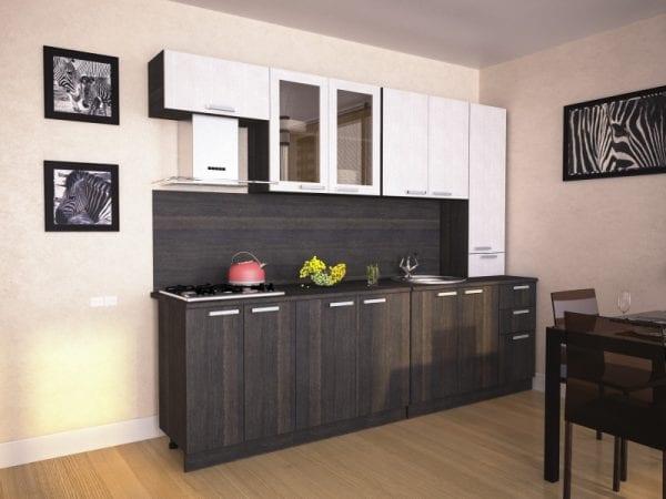 Кухня с фасадами из ЛДСП