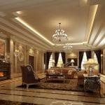 design-neo-classical-villa-living-room