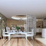 interior-design-living-room-kitchen-neoclassical-style
