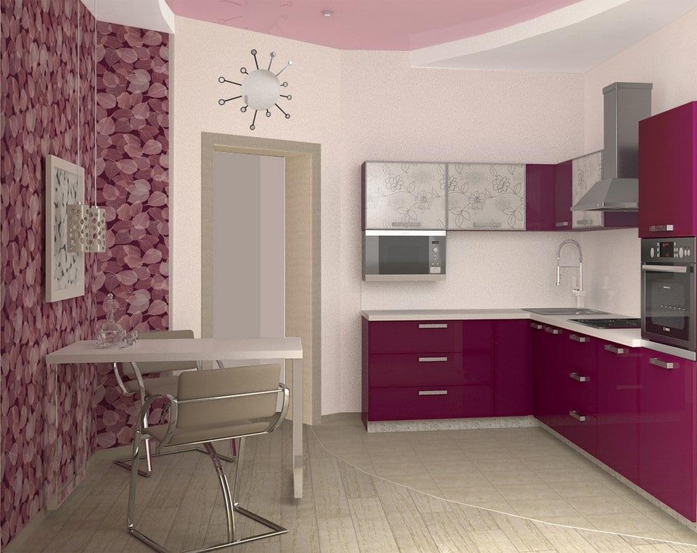 кухня дизайн интерьер фото 9 кв метров