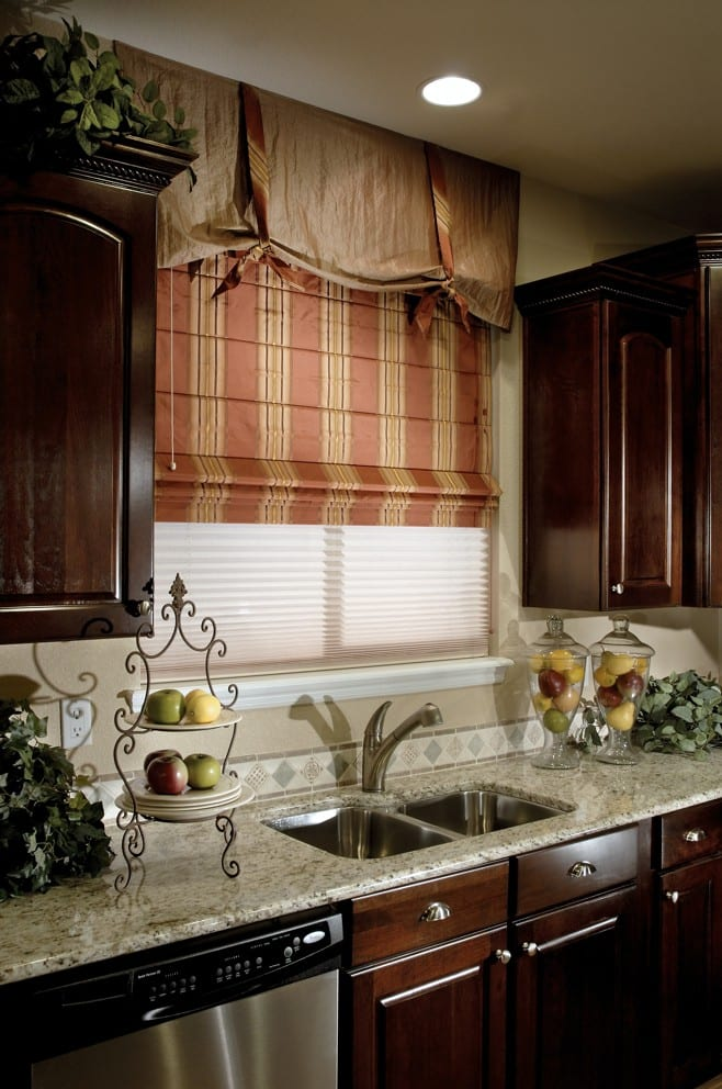 Дизайн жалюзи на кухню
