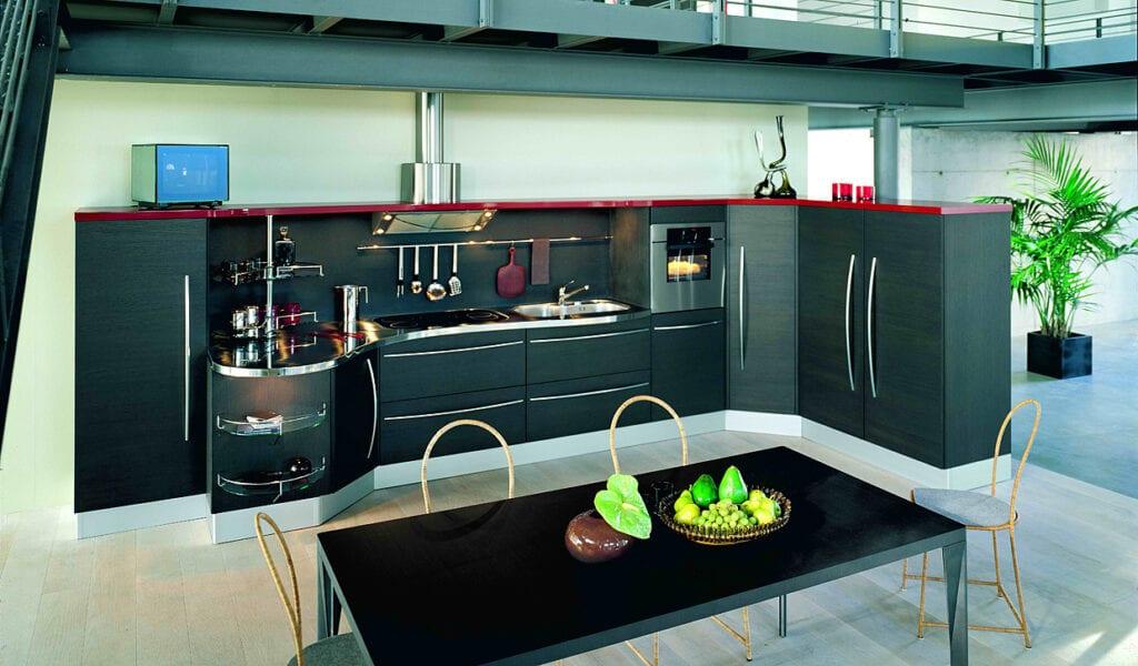 Кухни без шкафов дизайн