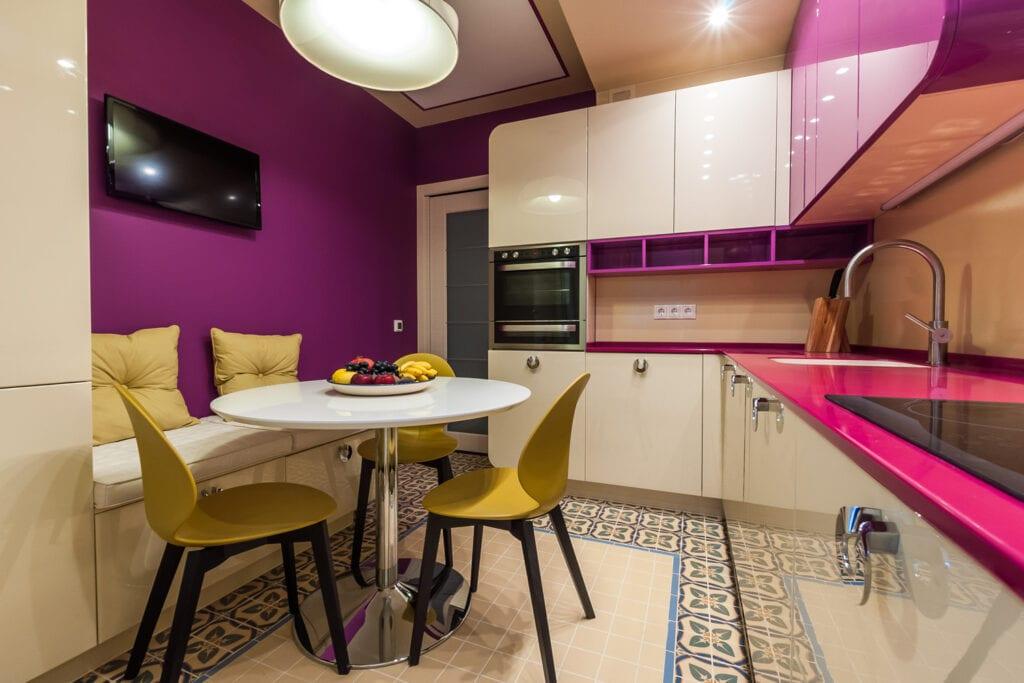 Дизайн кухни 8 кв.м спб