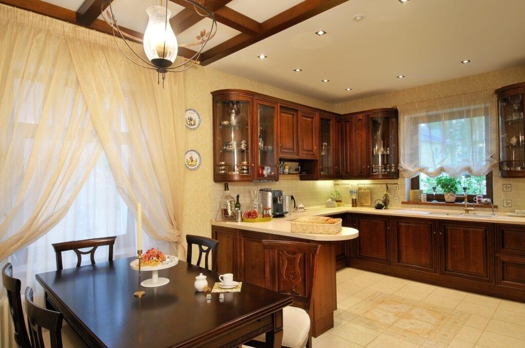Дизайн кухни столовая 12 кв метров