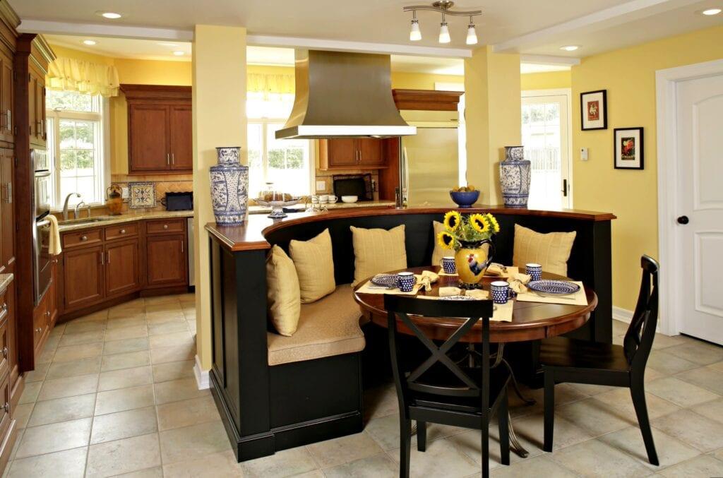 Ремонт кухни столовой фото