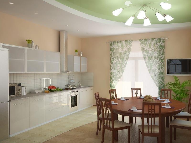 Дизайн кухни столовой 18 кв м новинки 2017-2018