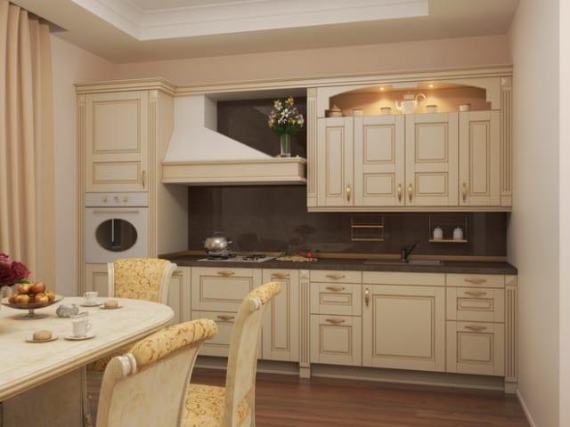 Дизайн кухонного гарнитура в классическом стиле