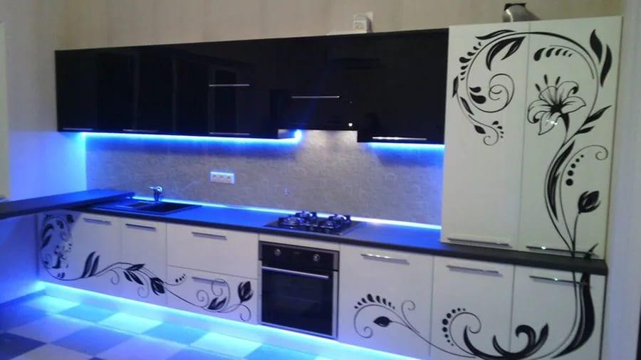 Рисунок на кухонный гарнитур