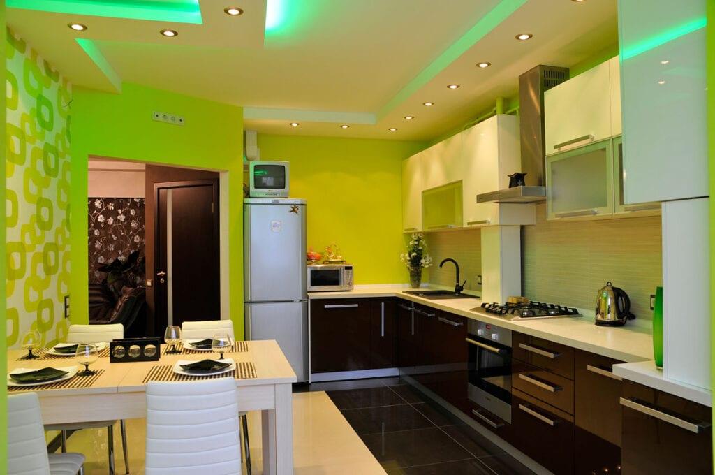 Идеи кухне покрашены фото