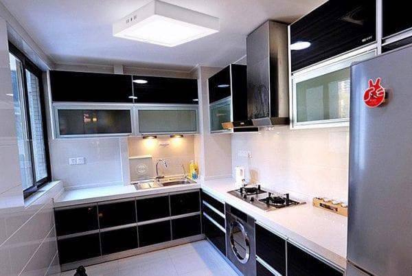 Осветительные панели на кухне
