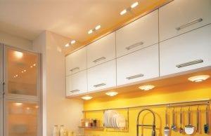 Потолочные светильники на кухню