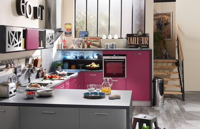 Ретро-кухня в стиле 50-х