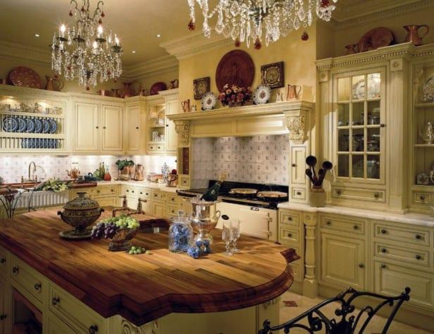 Как оформить кухню в английском стиле