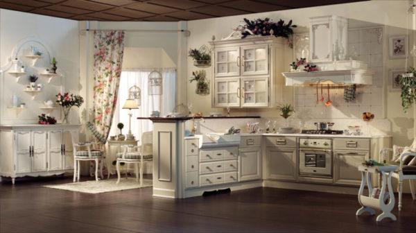 Средиземноморской стиль в интерьере кухни